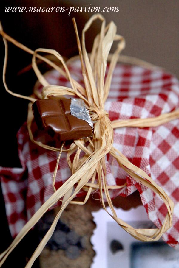 petit pot biscuits noisette choco