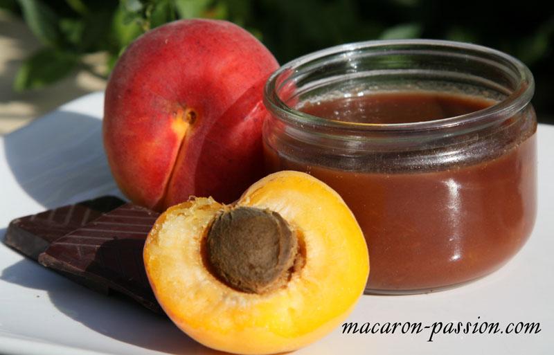 confiture abricot choco 1