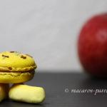 Macaron pomme et bonbons à la banane