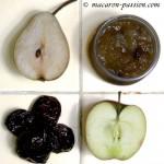 Confiture poire pomme pruneau