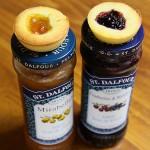 Petits palets cranberries-myrtilles et mirabelles
