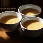 Crème pomme-cannelle façon