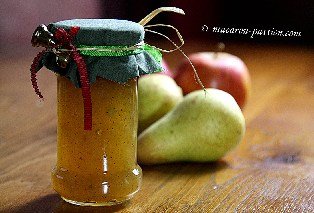 confiture poire pomme epice 1