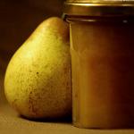 Confiture poire caramel beurre salé