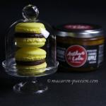 Macaron pomme-caramel et chocolat noir (Arthur & Lola)