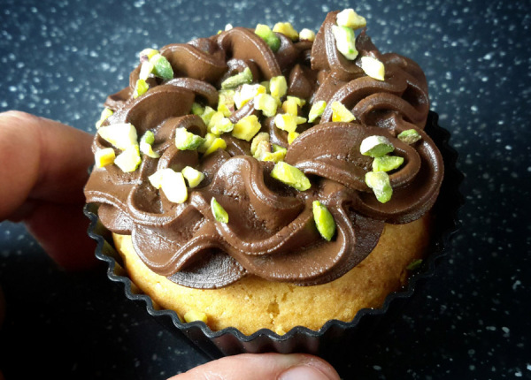 cupcake choco pistache 1C