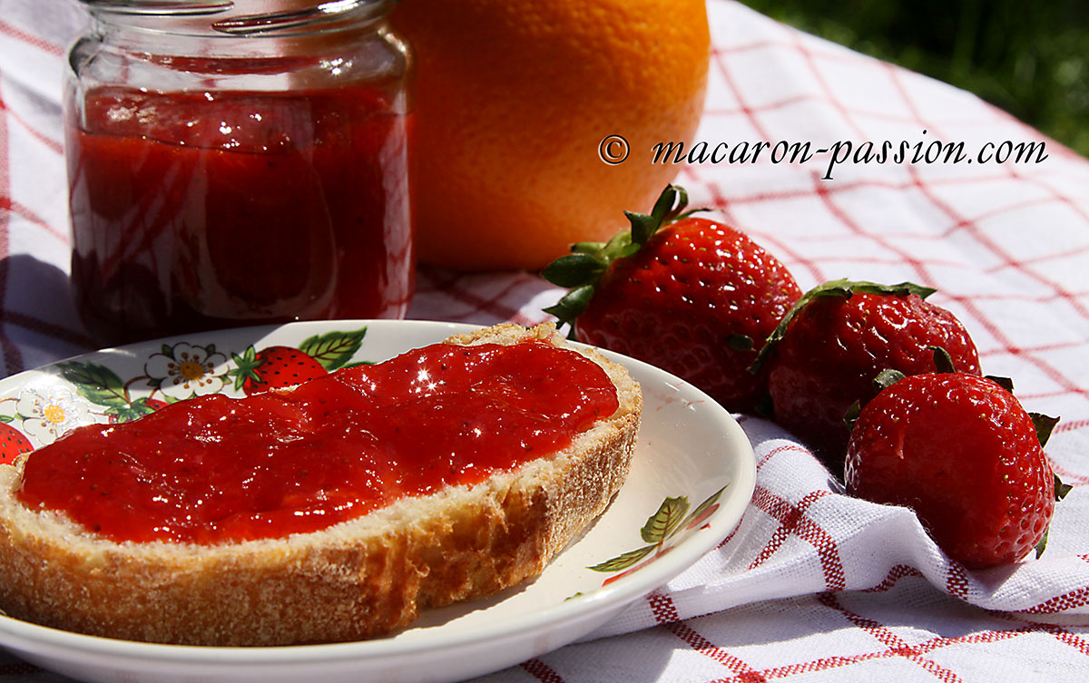 confiture orange-fraise 12