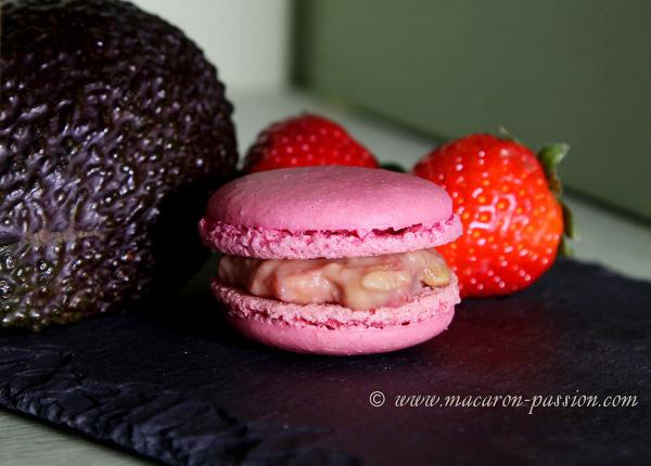macaron fraise avocat2